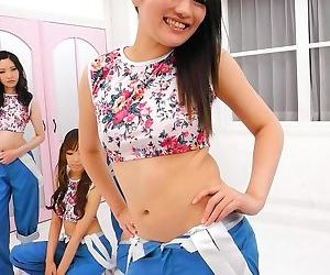 Japanese teenager loudly with thick nailing - part 891
