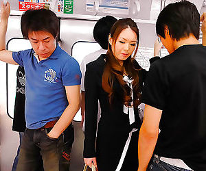 Shameless and nomable asian porn star china mimura making..