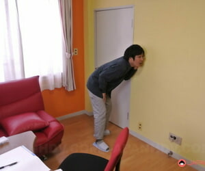 Nasty Asian housewife Yui Ayana seducing her neighbors..