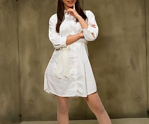 Hot Asian nurse Marica Hase gets involved in a rough..