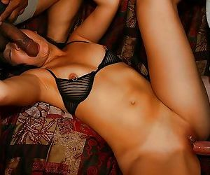 Lecherous asian slut with pierced nipples enjoys..