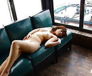 Filthy asian babe Sumire Aida slowly uncovering her..