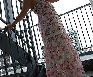 Sex-hungry asian babe Nagisa Matsui undressing and vibing..