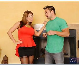 Asian MILF Ava Devine gets her pussy licked and shafted by..