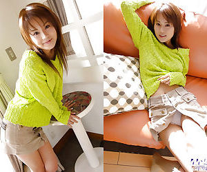 Foxy asian babe Takane Hirayama revealing her tempting..