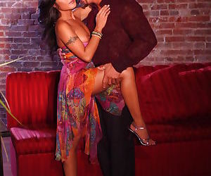 Adorable asian MILF Kaylani Lei gets her cunt fingered and..