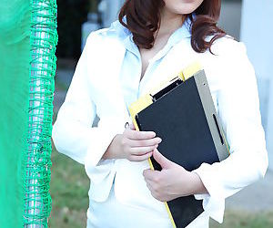 Sweet teacher jun sena shows off - part 2901
