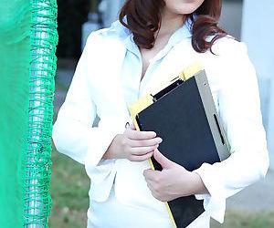 Sweet teacher jun sena shows off - part 2901