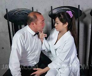 Asian chick mizuki ogawa sucks a cock till cumshot - part..