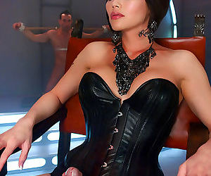 Eva lin commands submission with her eyes. she is strong,..