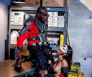 Asian ninja asa akira fucked by black dude in asshole -..