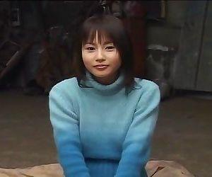 Very cute asian girlfriend gets a facial - part 2625