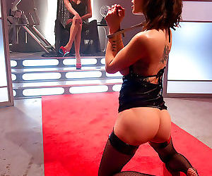 Space the final frontier for fucking venus lux and gia..