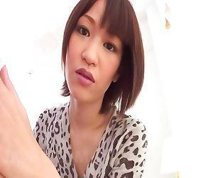 Nene mashiro asian sucks hard cock and crown jewels so..