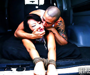 Helpless teen miko dai went out for a simple run and..