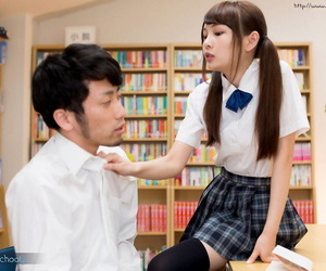 Japanese schoolgirl takes off OTK socks and shoes to..