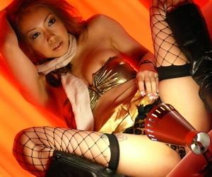 Japanese Nozomi Uehara surprises with blowjob and hot sex..