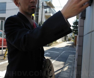 Japanese schoolgirl Nonoka Mihara roughly fucked and..