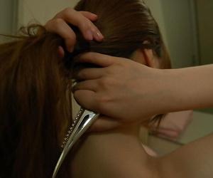 Asian teen with wooing curves Yuna Uchiyama taking shower