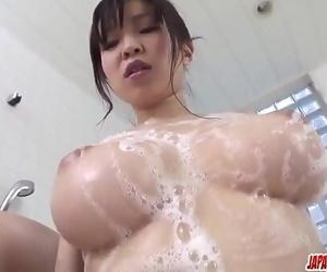 Busty milf, Miina Kanno, insane home pornMore at..