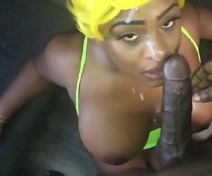 Captured Houston Big Boob Fuckslut Receives Huge Facial By..