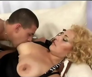 Young guy pounds hot chunky mom with huge hooters Vera..