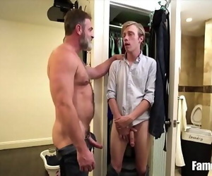 Son Caught Sneaking And Fucked By Dad 8 min