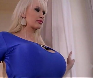 Sandra big hooters yam-sized