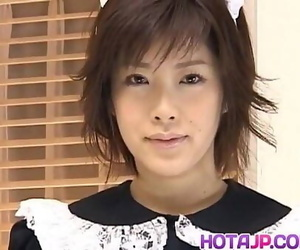 Kasumi Uehara maid is fucked with hitachi