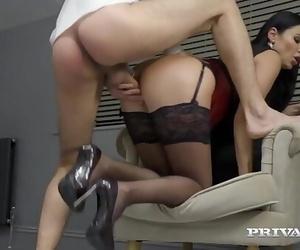 Private.comBig Titty Mature Snatch Ania Kinski Smallish..