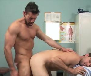 ExtraBigDicks - Latin Doctor Helps Patient with his Shaft