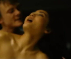 Juicy Chinese Woman Fucked by White Guy in Front of Window..