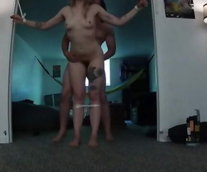 Great Hoe Bound to Wall given Multiple Ejaculations