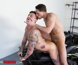 Lance Ford Trains his Stepbrother how to Ride -..