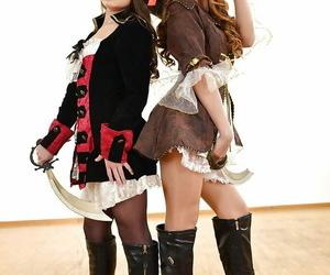 Naughty foot fetish lesbos Anita Berlusconi and Mona Kim..