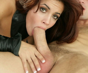 Hardworking super-bitch with nice thick bent is stuffed by..