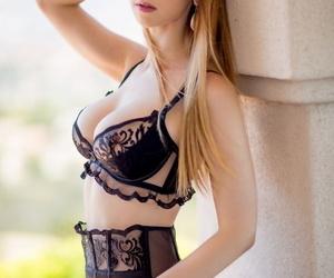 Innocent looking Asian chick & erotic looking underwear..