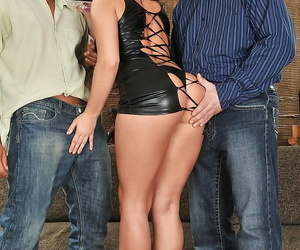 Stunning honey Bettina Dicapri gets her asshole drilled by..
