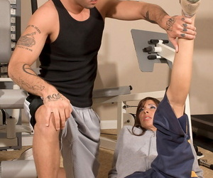 Fit mature lady with tats Isabella Loren gets fucked in..