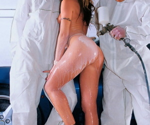 Super-fucking-hot porn industry star gets diminutive boobs..