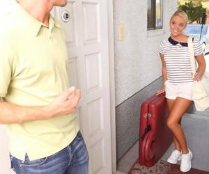 Ash-blonde massagist Alexis Monroe determines that she..