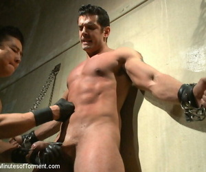 Uncircumcised bodybuilder the wall the pit the bamboo..