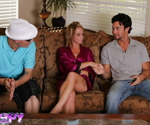 Obscene masseuse has soapy joy with her clients shaft and..