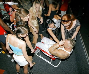 Nasty hoes go dirty at a soiree and turn it into a hook-up..