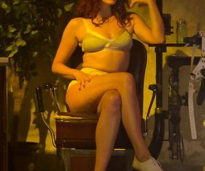 Female domination nurse Maitresse Madeline Marlowe nails..