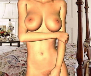 Toon girl nude poses - part 1526