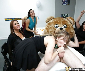 Nice honeys at the office providing blowjobs- frigging and..
