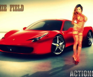 Off the hook actiongirls armie flores aka armie field..
