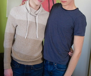 Gay twink riley finch and pursue williams set classmate..