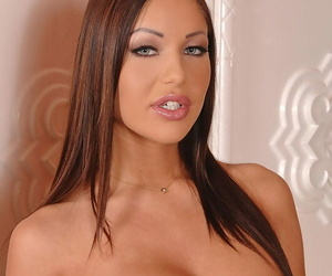 Angelica Heart in one sloppy whore buxom the Dped out of 3..